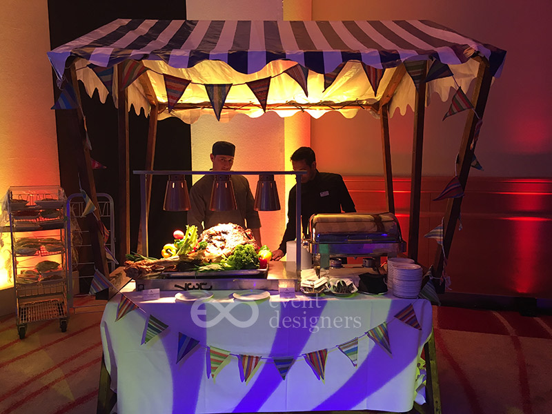 Festival theme buffet